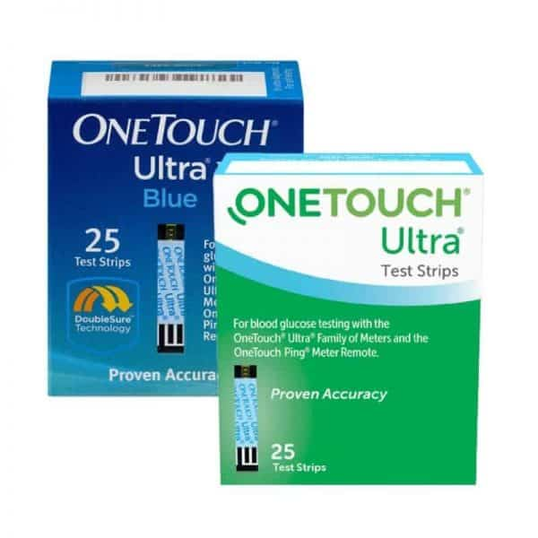We Buy One Touch Ultra 25ct Test Strips - Sell Diabetic Test Strips - Fast Cash Strips