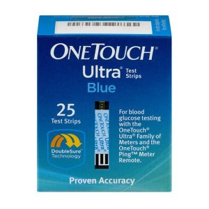 We Buy One Touch Ultra Blue 25ct Test Strips - Sell Diabetic Test Strips - Fast Cash Strips